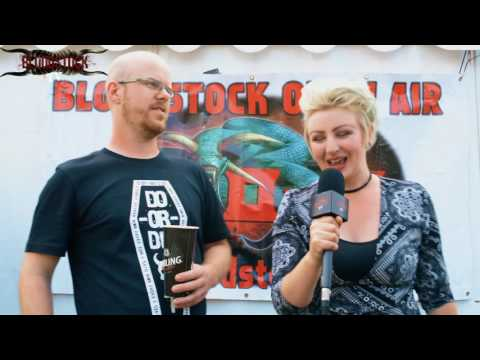I SAW THE WORLD BURN Interview - Bloodstock 2016