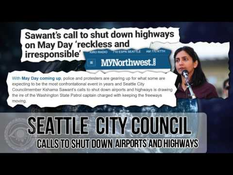 Seattle City Council member calls for SHUTTING DOWN AIRPORTS AND HIGHWAYS