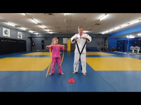 Kids at home Judo class - session 1