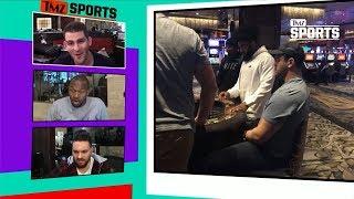 Ezekiel Elliott Hits Vegas Craps Table With Cowboys Teammates To Get Over Playoff Loss | TMZ Sports