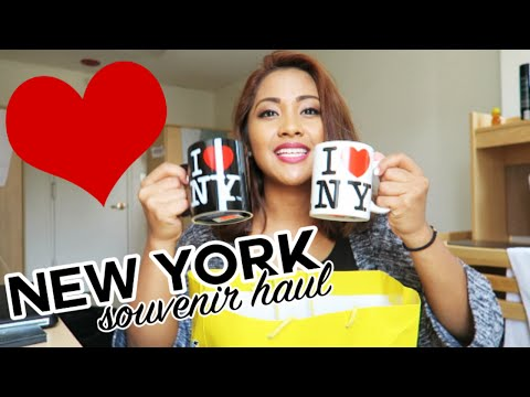 New York Souvenir Haul! | RaleighWrites