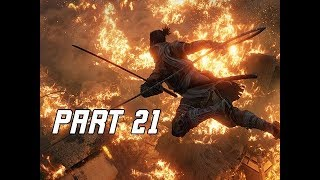 SEKIRO SHADOWS DIE TWICE Walkthrough Part 21 - Mibu Village (Let's Play Commentary)