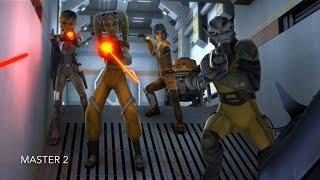 the ghost crew vs fyrnock s star wars rebels season 1 episode 7 hd