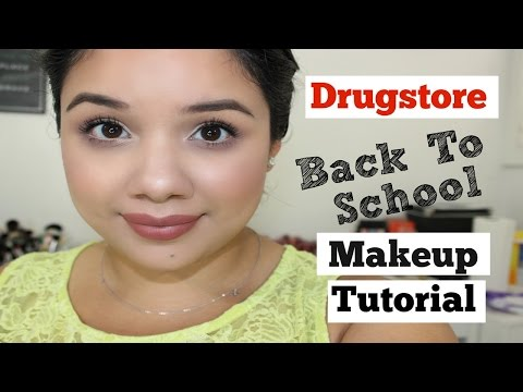 Drugstore Back To School Makeup Tutorial