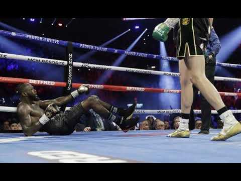 Уайлдер назвал причину, по которой он проиграл Фьюри в бое за пояс WBC
