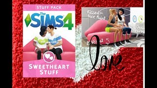 Sweetheart stuff review!!! The sims 4