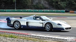 DRIFTING a £2 Million Maserati MC12!!