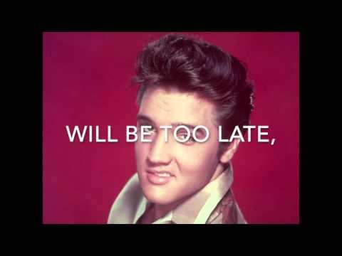 It's now or never - Elvis Presley Karaoke female version (+3) high