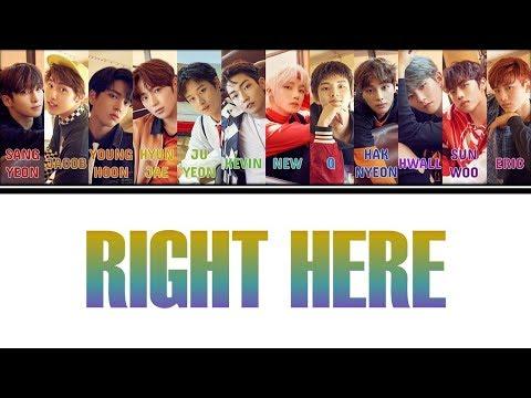 [Color Coded Lyrics] THE BOYZ(더보이즈) - Right Here (Han/Rom/Eng)