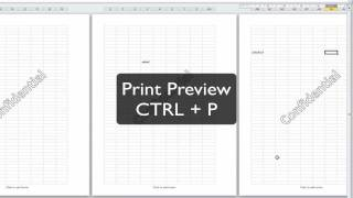 Excel Tip: Watermarks in Excel 2010 when you're printing more than one page