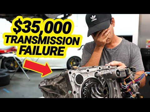 MY FERRARI BROKE AND IT COSTS $35,000 TO FIX (Ferrari 458 Transmission Rebuild)