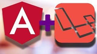 Laravel and Angular Together