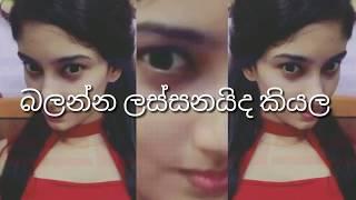 කොහොමද මේ නන්ගිගෙ වැඩ, ලස්සනයි නේද Amazing Musically Dubsmash Sri Lanka part 1 HD