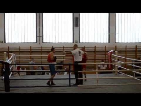 Miskolc Boxing - Németh László (Red) (Round 1)