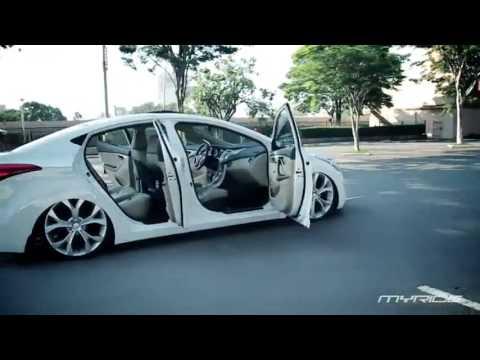 New Hyundai Sonata >> MyRide - Elantra com rodas aro 20 - YouTube