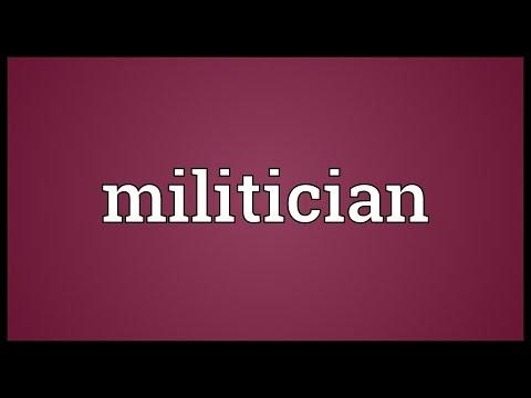 Header of Militician