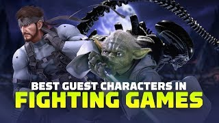 The 9 Best Guest Characters in Fighting Games