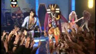 Massacration e Falcão - The Mummy (ao vivo VMB 2009) (HQ) Melhor Imagem