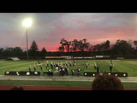 Leechburg High School Marching Band 2017