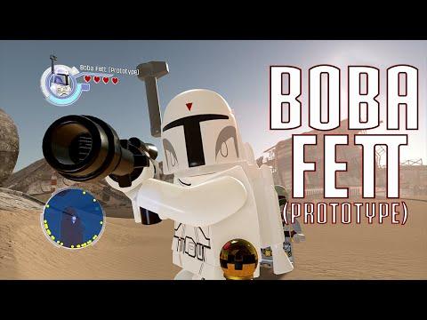 Lego Star Wars The Force Awakens Boba Fett Prototype Free Roam