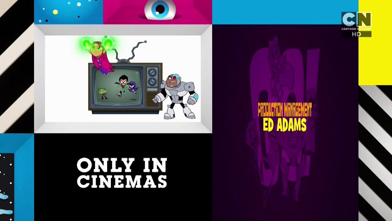 Cartoon Network UK HD Teen Titans Go! To The Movies ECP