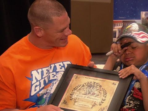 WWE In Your Corner: WWE supports the Make-A-Wish Foundation