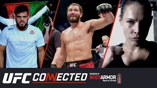 UFC Connected: Jorge Masvidal, Nasrat Haqparast, Lina Lansberg, Jack Shore