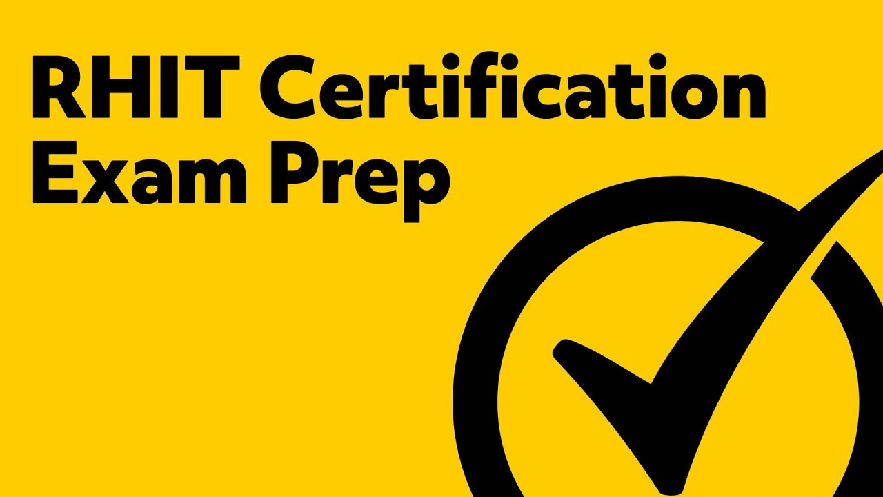 RHIT Practice Test Questions (Prep for the RHIT