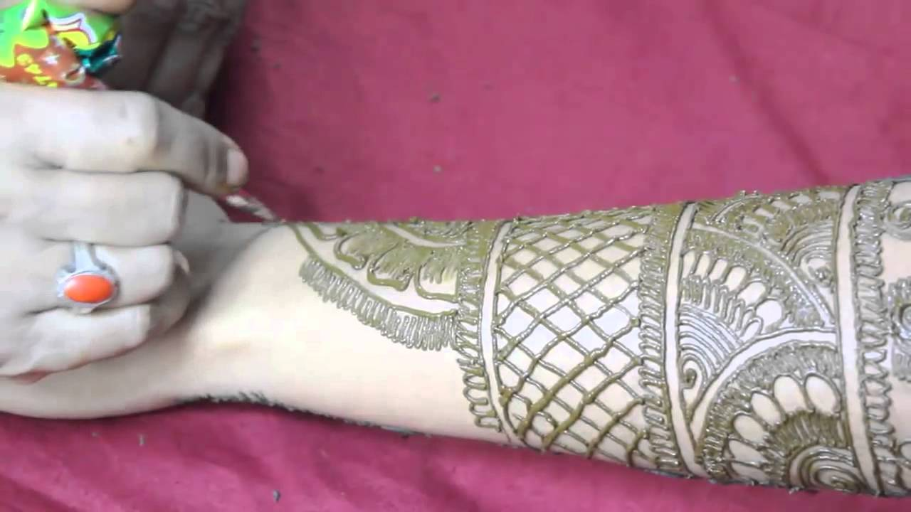 Best Mehndi Designs For Marriage Functions And Festivals For Back