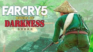 FAR CRY 5 DLC ВЬЕТНАМ - ГУКИ ПОВСЮДУ, ЖГЁМ ИХ НАПАЛМОМ! Прохождение Hours of Darkness