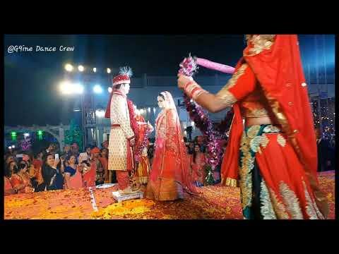 Weeding Padmavati Ghoomar Bride & Groom Theme   Grand Vermala Entry   Pamavati Theme   Aryan Singh