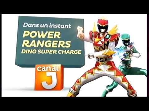 Power Rangers Dino Super Charge - Canal J - Promo - Dans un instant