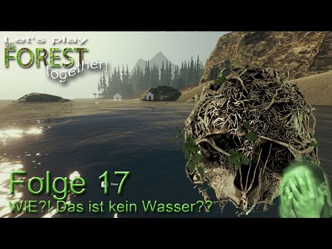 Let's play The Forest together - Folge 17 - Wie, das ist kein Wasser? - Fuchurs Let's plays