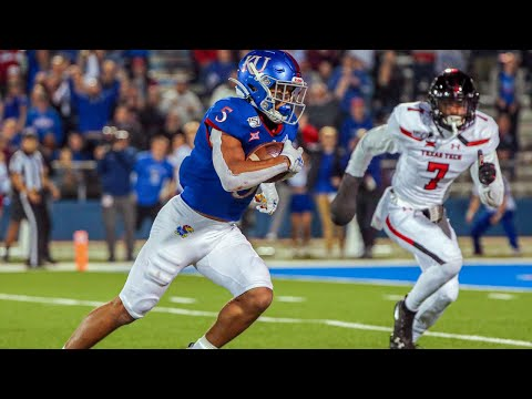 Texas Tech At Kansas Football Highlights