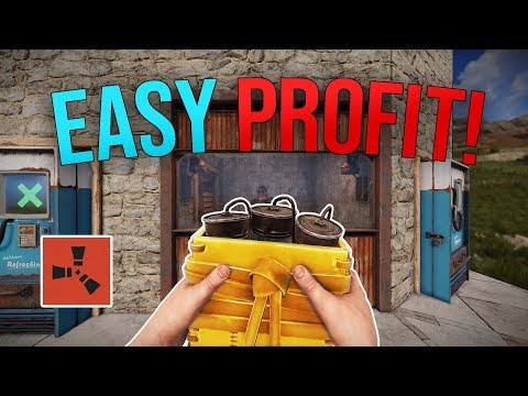 MAKING EASY PROFIT FROM A LUCKY TRADE! - Rust Duo