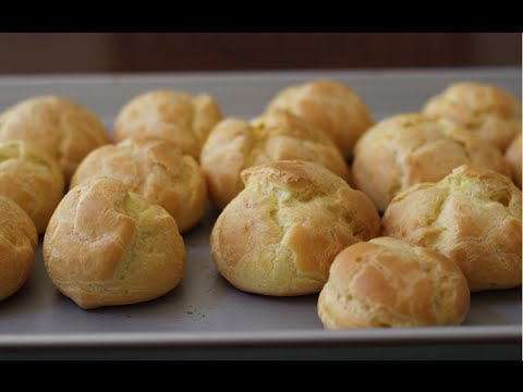 عجينة الشو( البروفيترول ) - مطبخ منال العالم