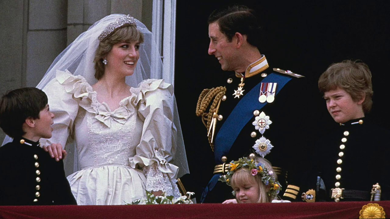 Diana And Charles Wedding.The Wedding Of Prince Charles And Lady Diana In 1981