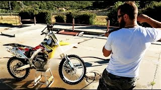 How to wash your dirt bike - Suzuki  RMZ 450
