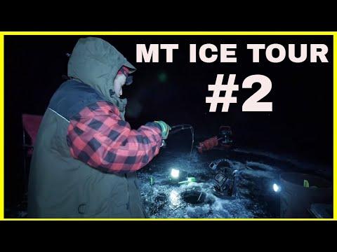 HOOKED UP WALLEYE - MONTANA ICE TOUR #2