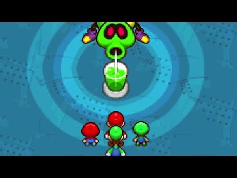 Mario & Luigi Partners in Time Walkthrough - Part 5 - Vim Factory