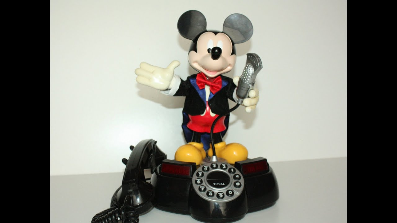 mickey_DisneyMickeyMouseMCAnimatedTalkingTelephone[HD]-YouTube