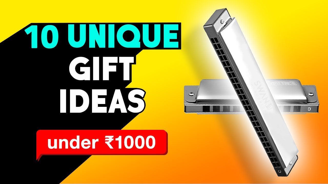 10 Unique Gift Ideas Under 1000 Rs Tech Gadgets Under Budget On Amazon Best Gift Under 1000 India Youtube