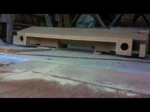 Gmc Extended Cab Custom Sub Box 2 Alpine Type R S Youtube