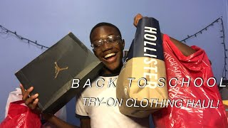 HUGE BACK TO SCHOOL TRY ON CLOTHING HAUL 2018