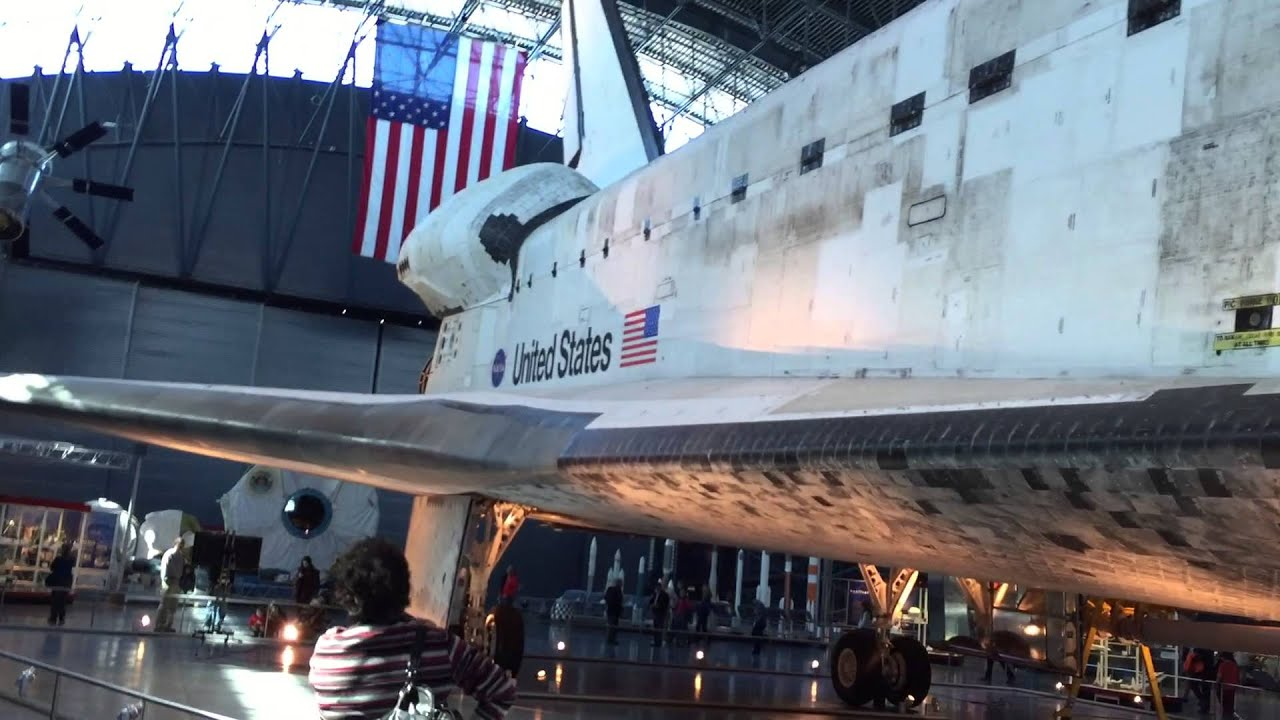 NASA Space Shuttle Discovery exhibit - National Air ...