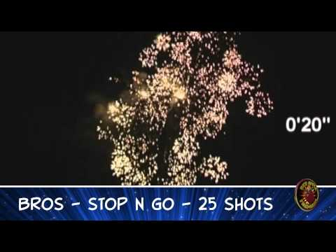 Stop N Go Brothers Pyrotechnics Product Review with Mike @ Red Apple Fireworks