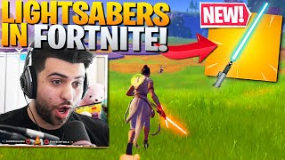 STAR WARS EVENT ADDS LIGHTSABERS TO FORTNITE! (Rise of Skywalker Trailer) - Fortnite Battle Royale