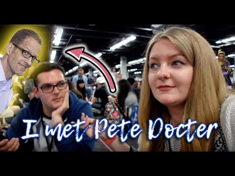 I MET PETE DOCTER AT D23 EXPO 2017 | nuggetstumpblog