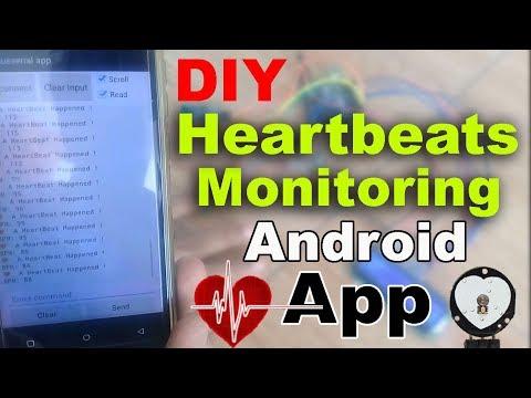 Arduino Project: Pulse Sensor/ Heartbeat Rate/ Heart Rate Measurement Using  Bluetooth App