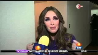 A Ex-RBD - Anahí retorna a Televisa para apoiar Teleton! 05/12/14